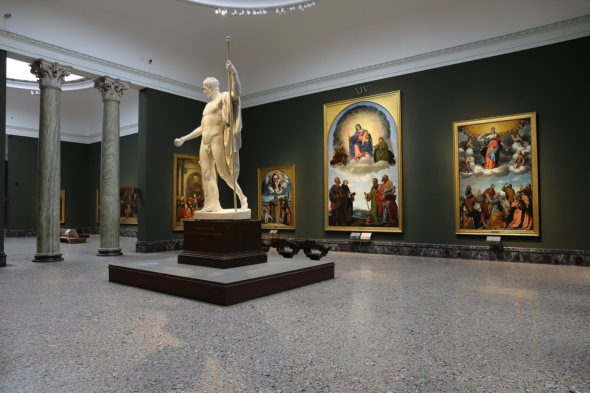 布雷拉美术馆展陈内景 Exhibition View in Pinacoteca di Brera 01.jpg