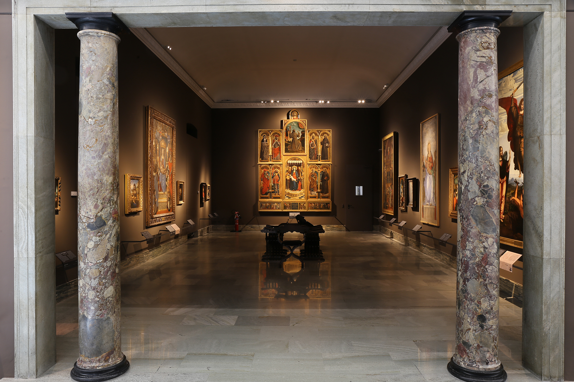 布雷拉美术馆展陈内景 Exhibition View in Pinacoteca di Brera 04.jpg